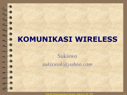 komunikasi wireless