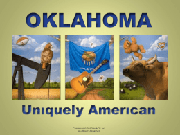 CHAPTER 6 - Oklahoma Uniquely American