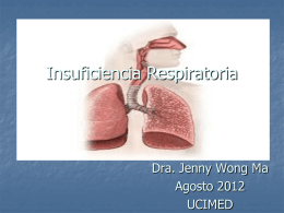 charla Insuficiencia Respiratoria en el Adulto UCIMED 2012