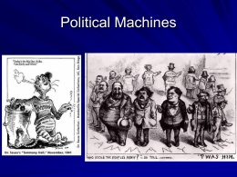 Political Machines
