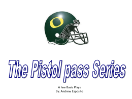 Pistol Offense Powerpoint