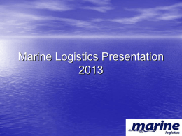 Save - Marine Logistics