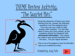 Theme Review Activity-Amy Fuhr
