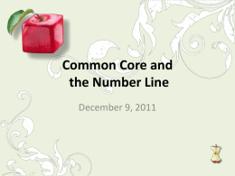 PowerPoint Presentation - Common Core State Standards