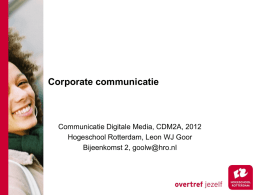 Identiteit - Communicatie Digitale Media