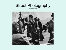 Street Photography Powerpoint