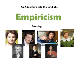 Empiricism PowerPoint