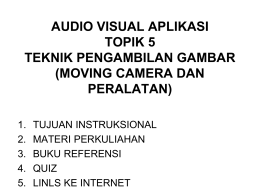 audio visual Aplikasi Pertemuan 5