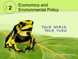 2.2 United States Environmental Policy Powerpoint