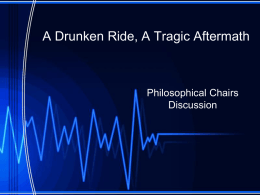 A Drunken Ride, A Tragic Aftermath