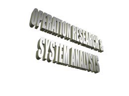 orsa (operation research dan system analysis