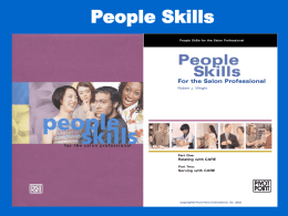 People Skills for the Salon Professional