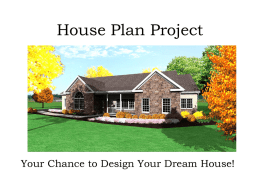 House Plan Project Presentation