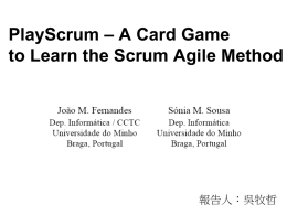 PlayScrum – A Card Game to Learn the Scrum Agile Method