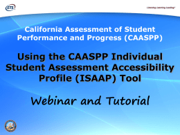 What is the ISAAP Tool?
