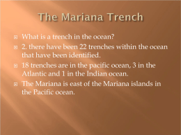 The Marianna Trench