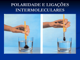 LIGAÇÕES INTERMOLECULARES - QUÍMICA LEGAL