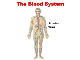 The Blood System - Northwest Technology Center