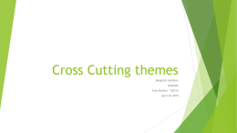Cross Cutting themes - Flinders University