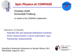 Spin Physics Results from COMPASS