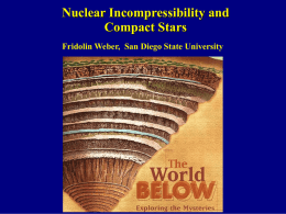 Nuclear Incompressibility and Compact Stars