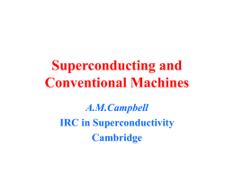Superconducting and Conventional Machines