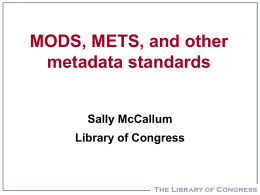 Evolving Standards – through IFLA/ICABS and ISO/TC46