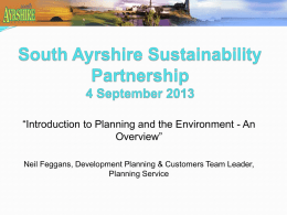 South Ayrshire Planning Forum