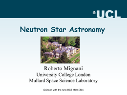 The HST Contribution to Neutron Star's Astronomy