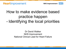 A Modern Heart Failure Service - NHS Improvement