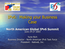 IPv6: Identifying the road to revenue