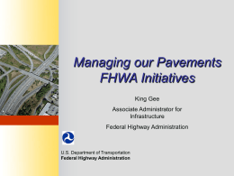 Highway Maintenance Overview