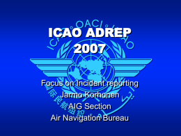 AVIATION SAFETY ENABLERS - COSCAP-NA