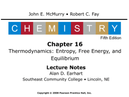 Chemistry: McMurry and Fay, 5th Edition