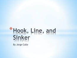 Hook, Line, and Sinker - Bestofaplanguage's Blog
