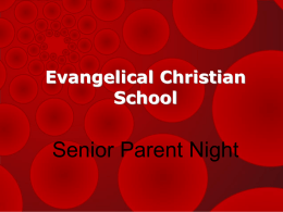 Evangelical Christian School