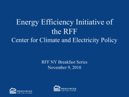 CCEP Center for Climate and Electricity Policy