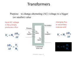 Principle of Transformer Action