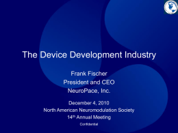 The Device Development Industry