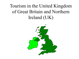 Tourism in the United Kingdom of Great Britain and