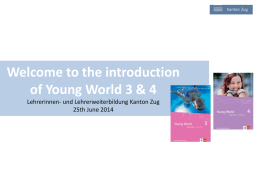Welcome to the introduction of Young World 3 & 4