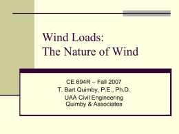 Nature of Wind - A Beginner's Guide to Structural