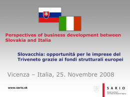 Investment Climate and Role of SARIO