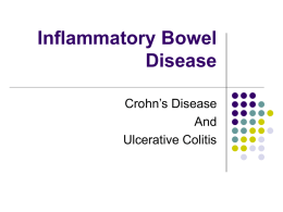 Inflammatory Bowel Disease - Illinois Gastroenterology Group