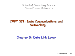 3rd Edition, Chapter 5 - Simon Fraser University