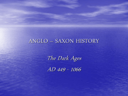 ANGLO SAXON_HISTORY ppt