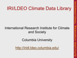 IN32A-05 The IRI/LDEO Climate Data Library: Helping People