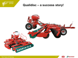 Kverneland Group Importer Event at Agritechnica, Hannover