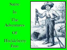 The Many Types of Satirical Humor in The Adventures of