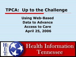 Using Web-Based Data to Advance Access to Care